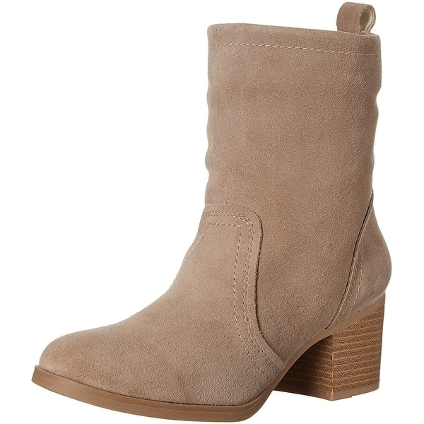 White Mountain Women's Bernata Ankle Bootie, Taupe, Size 9.0 - 9