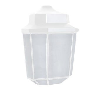 Costaluz 3028-FR 1 Light Incandescent Outdoor Wall Sconce with Frosted Glass Shade