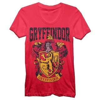 Harry Potter Gryffindor Juniors Red T-shirt