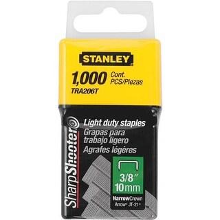 "Stanley 3/8"" Light Duty Staple TRA206T Unit: EACH"