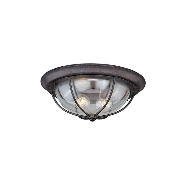 outdoor flush light led vaxcel lighting t0220 dockside 2light outdoor flush mount ceiling fixture with clear glass shade shop