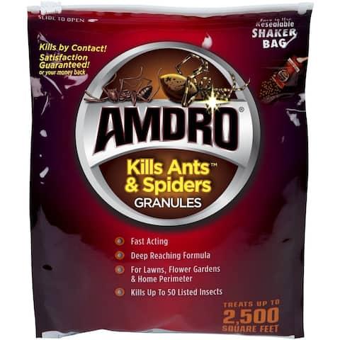 Amdro 100099383 Ants & Spiders Killer Granules, 3 lbs