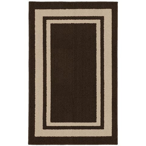 Garland Rug Borderline Indoor/Outdoor Area Rug