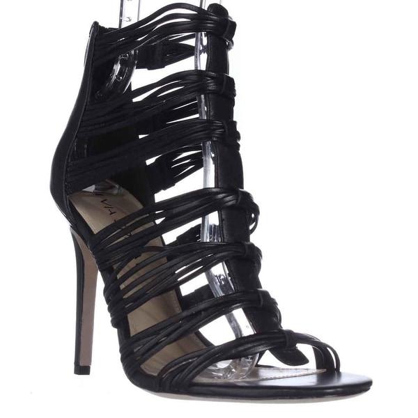 Via Spiga Terelle Strappy Dress Sandals, Black