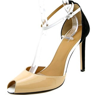 Calvin Klein Sirena Women  Peep-Toe Synthetic Multi Color Heels