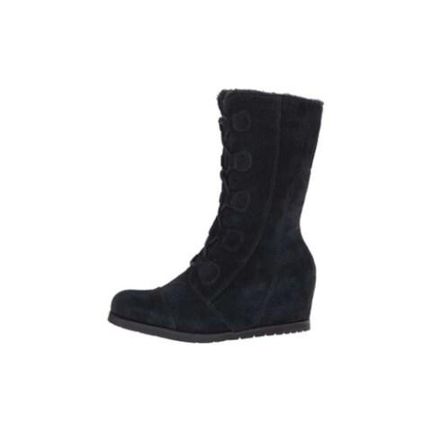 Bare Traps Womens Brinda Round Toe Mid-Calf Cold Weather Boots