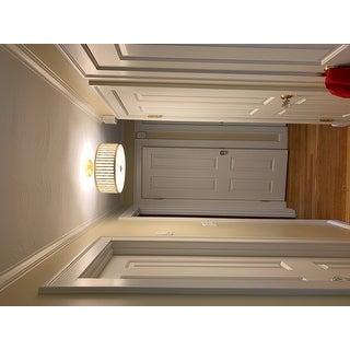 "Safavieh Lighting 15.25-inch Pierce 3-light Gold Flush Mount - 15.25"" x 15.25"" x 10.5"""