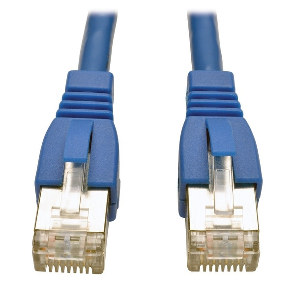 Startech - C6aspat7bl 7Ft Cat6a Blue Shielded Moldedngigabit Rj45 Stp Patch Cord
