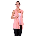 Simply Ravishing Women's Basic Sleeveless Open Cardigan (Size: Small-5X) - Thumbnail 8