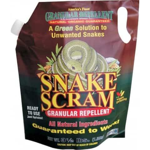 EPIC 16003 Snake Scram Granules Repellent Shaker Bag, 3.5 Lb
