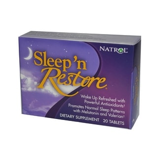 Natrol Sleep n Restore - 20 Tablets