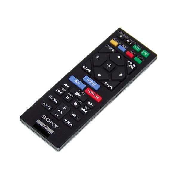 OEM Sony Remote Originally Shipped With: BDPS2200, BDP-S2200, BDPBX120, BDP-BX120, BDPS3200, BDP-S3200