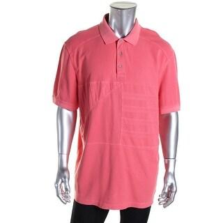 Nautica Mens Pique Faded Polo Shirt - XXL