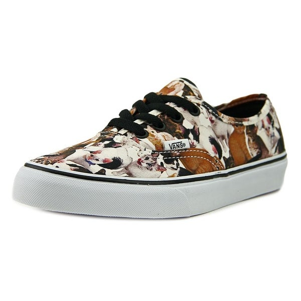 Vans Authentic Women Round Toe Synthetic Brown Sneakers