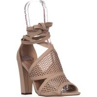 Call It Spring Rounkles Peep Toe Anke-Strap Sandals, Bone
