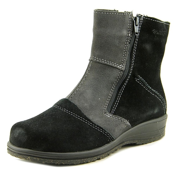 c3c0a09f665 Shop Martino Shirley Black/Deep Grey Boots - Free Shipping On Orders ...