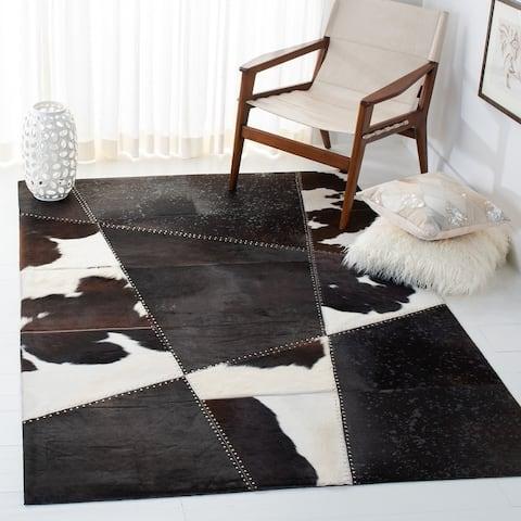 Safavieh Handmade Studio Leather Hidajeta Modern Rug