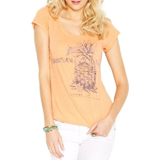 Lucky Brand Womens Juniors Casual Top Jersey Hi-Low