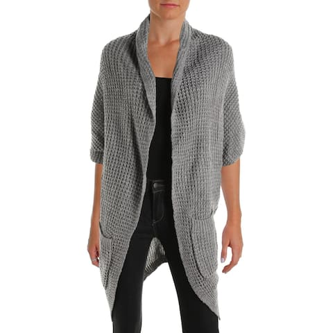 Love Scarlett Womens Cardigan Sweater Open Front Poncho Sleeves