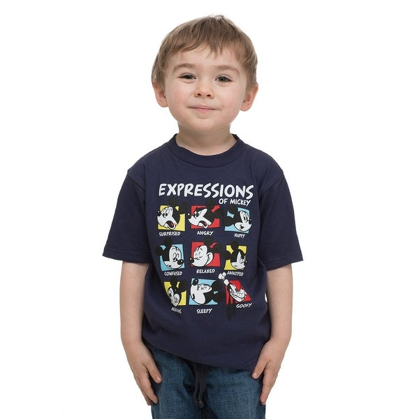 Mickey Expressions Toddler T-Shirt - 3T
