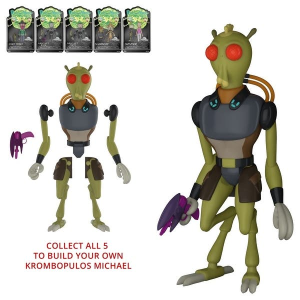 Action Figure: Rick /& Morty Rick Purge Suit Brand New In Box Funko