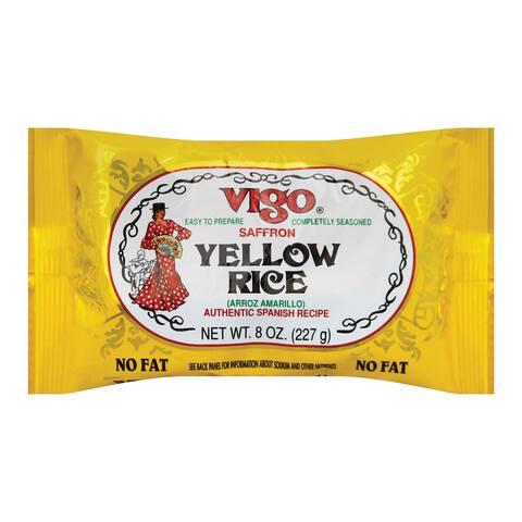 Vigo Yellow Rice - Case of 12 - 8 oz.