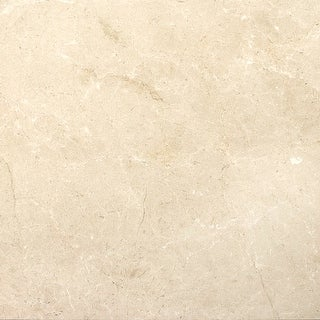 "Emser Tile M05CREM2424PL  Marble - 23-5/8"" x 23-5/8"" Square Floor and Wall Tile - Polished Marble Visual - Crema Marfil Plus"