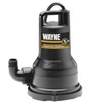 WAYNE VIP50 1/2 HP Thermoplastic Submersible Utility Pump - N/A - N/A