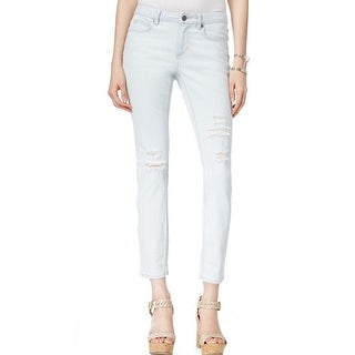 Two By Vince Camuto NEW Beachside Blue Womens Size 8 Slim Skinny Jeans