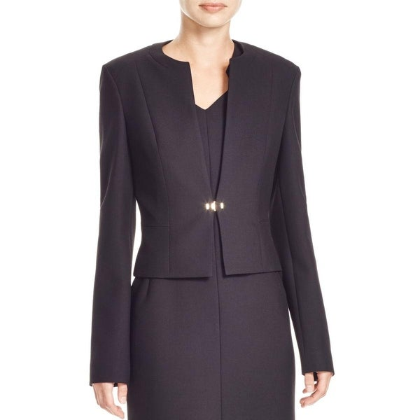 BOSS Hugo Boss Womens Jipela Blazer Ponte Long Sleeves
