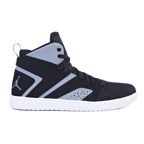 ab476df3dea7c0 Jordan Mens Flight Legend Hight Top Lace Up Basketball Shoes