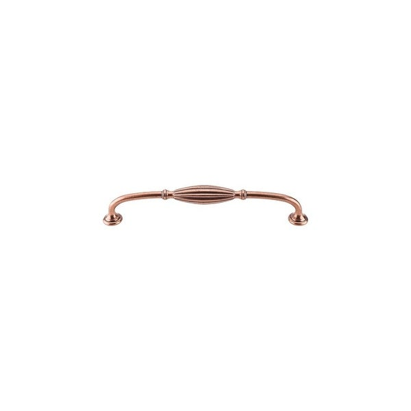 Top Knobs M469 Tuscany 8-13/16 Inch Center to Center Handle Cabinet Pull - ANTIQUE COPPER