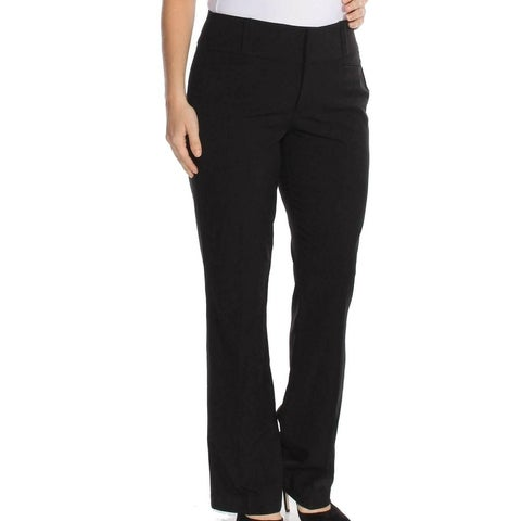 XOXO Deep Black Women's Size 9/10 Bootcut Tab Front Dress Pants