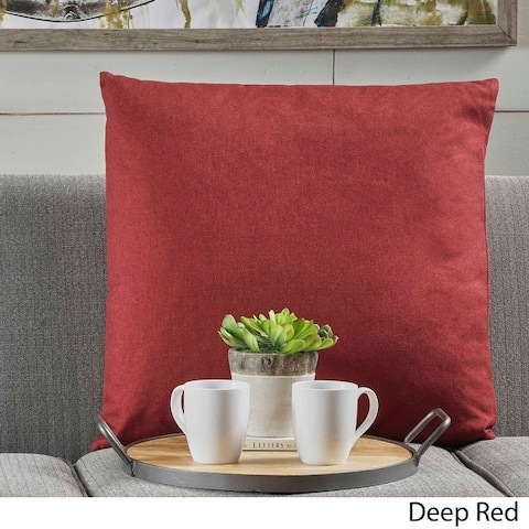 Saskia Fabric Pillow by Christopher Knight Home