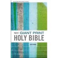 Zondervan 83430 Nirv Giant Print Holy Bible-Hardcover