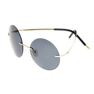 Breed Bellatrix Men's Titanium Sunglasses - 100% UVA/UVB Prorection - Polarized Lens - Multi