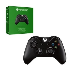 Microsoft Black Wireless 3.5mm Jack Controller for Microsoft Xbox One