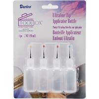 Ultrafine Tip Applicator Bottles 20ml 4/Pkg-20ml