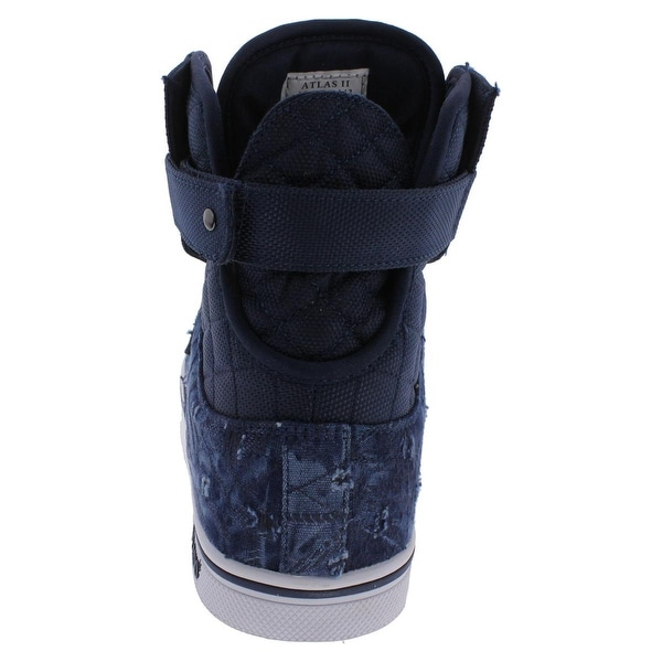 Shop Vlado Mens Atlas II Athletic Shoes Quilted High Top