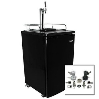 EdgeStar KC2000HMBREW 20 Inch Wide Kegerator and Keg Beer Cooler for Full Size K
