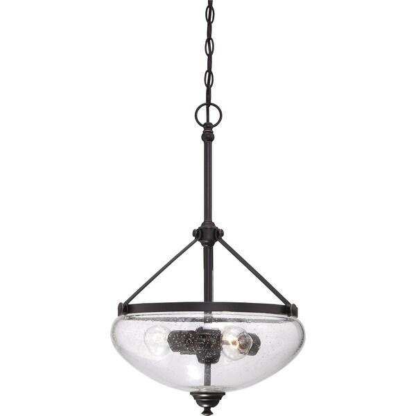 "Nuvo Lighting 60/5547 3-Light 15-1/2"" Wide Pendant - sudbury bronze"