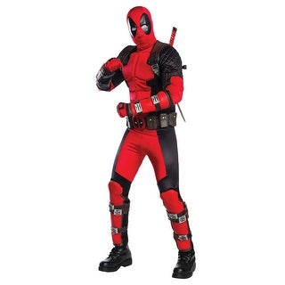 Authentic Deadpool Costume for Adults