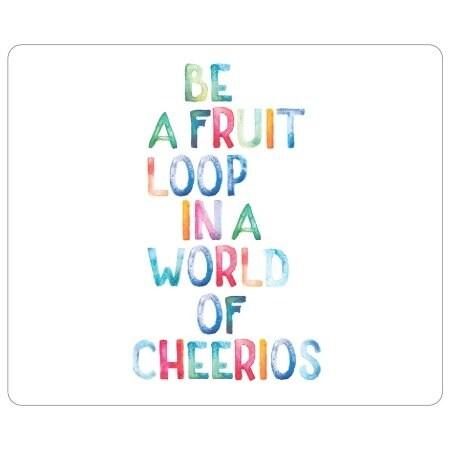 Centon Electronics - Otm Quotes Prints White Mouse Pad, Fruit