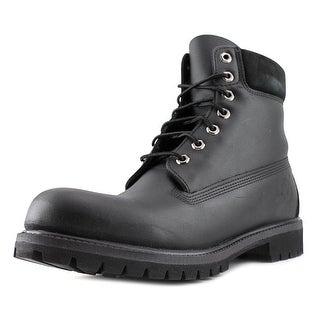 Timberland 6-inch Premium Waterproof Men Round Toe Leather Black Boot