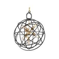 """Artcraft Lighting AC10956 Orbit 6-Light 24"""" Wide Globe Chandelier - Oil Rubbed bronze - n/a"""