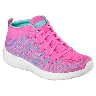 Skechers 81909L HPTQ Girl's BURST - SWEET SYMPHONY Sneaker