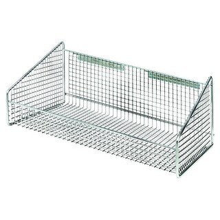 Quantum Storage Hanging Basket for Wire Partition Wall System