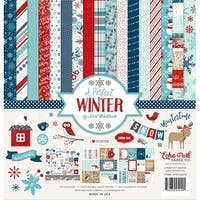 "Echo Park Collection Kit 12""X12""-A Perfect Winter"
