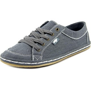 Rocket Dog Willie Women Round Toe Canvas Gray Fashion Sneakers