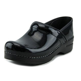 Dansko Narrow Pro Round Toe Leather Clogs